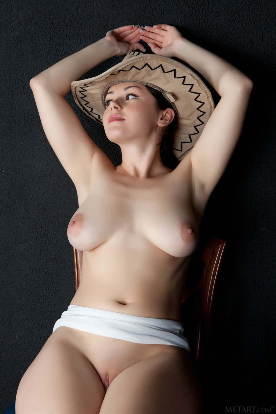 Cowgirl with nice boobs 10