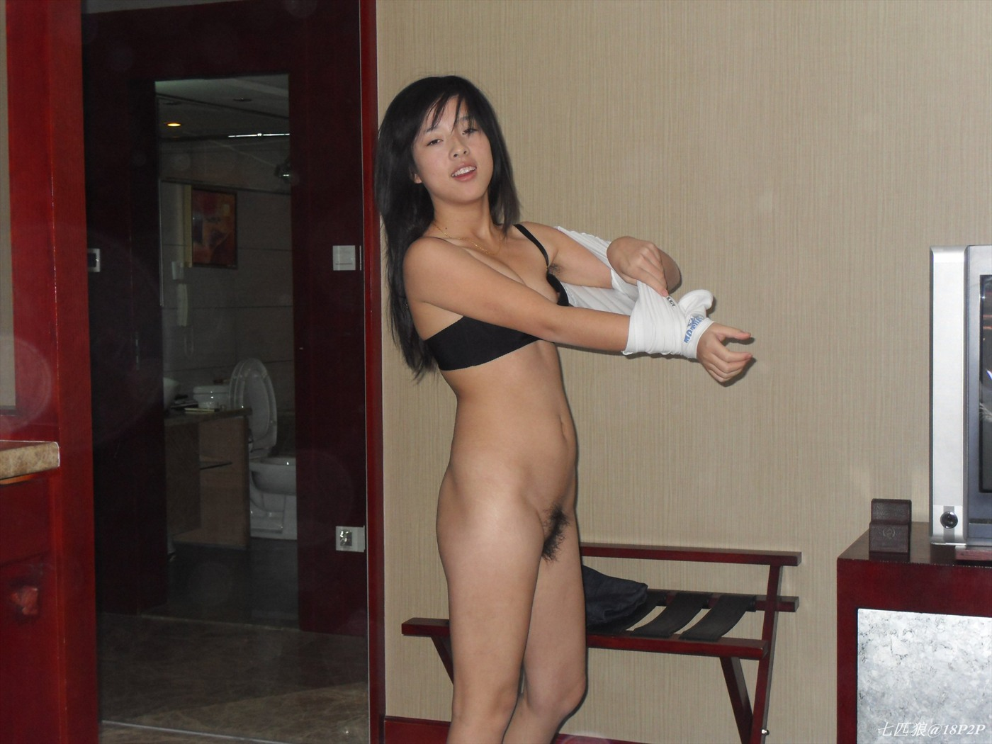 wife naked Asian