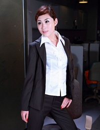 Asian Office Lady Nude