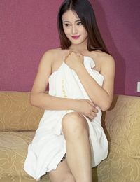 Chinese Girl Tiantian Hairy Pussy