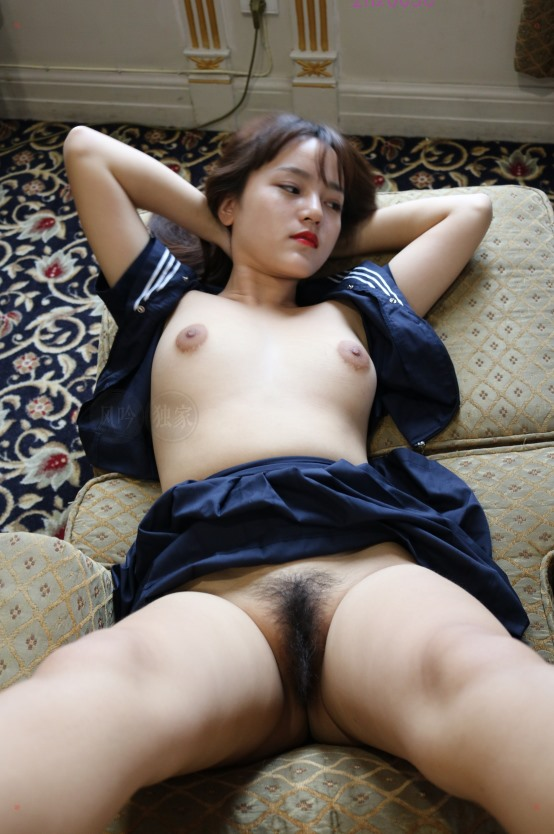 Chinese hairy cunt