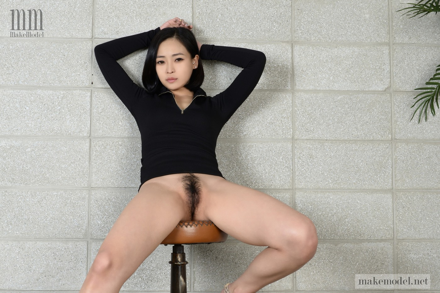 naked hairy girl korean